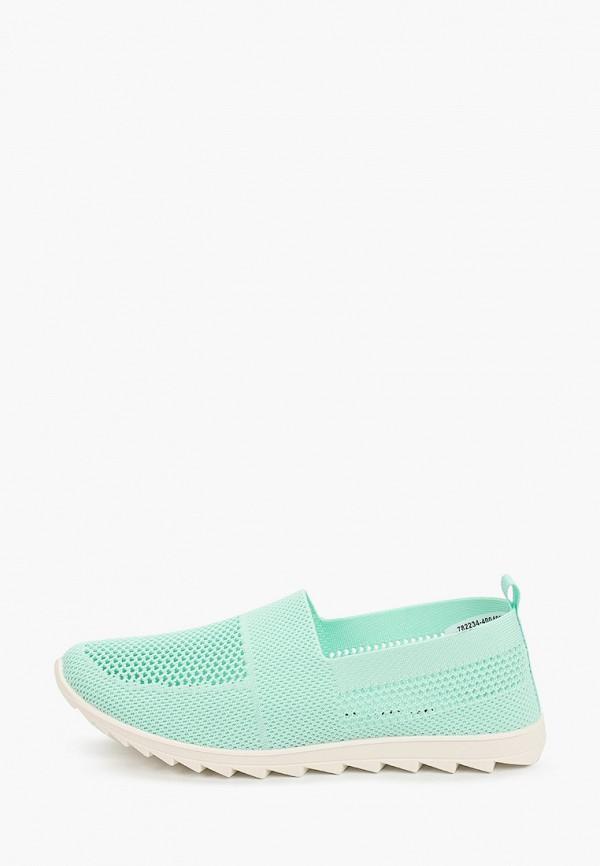 женские низкие кроссовки zenden active, зеленые