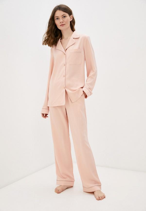 женская пижама minaku, розовая