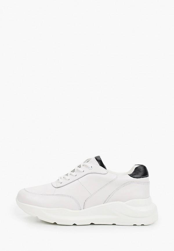 женские низкие кроссовки thomas munz, белые