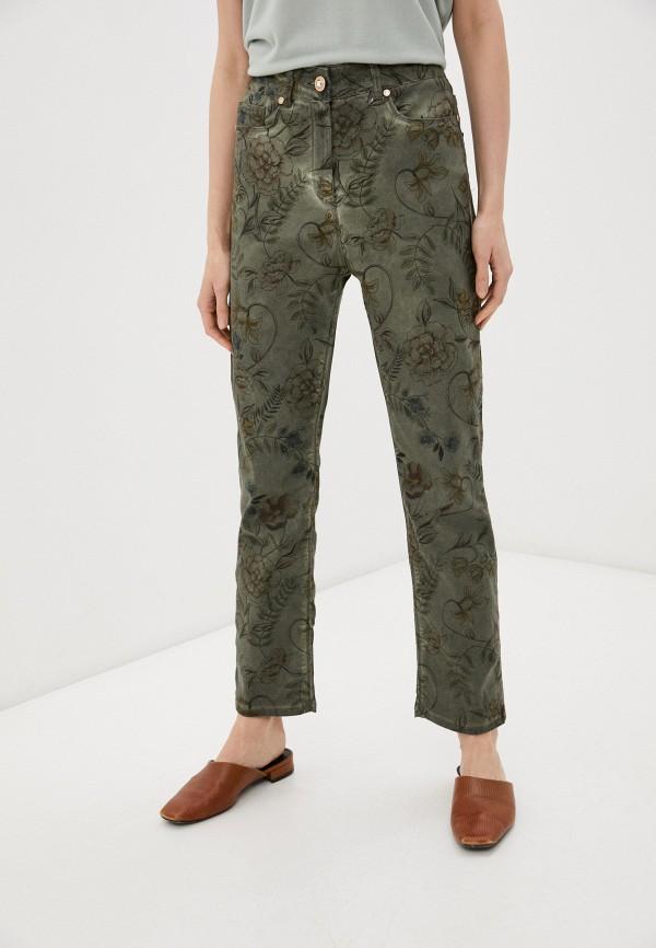женские повседневные брюки franco vello, хаки