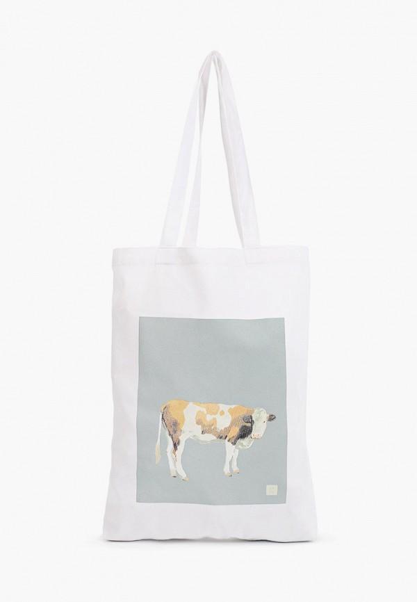 женская сумка-шоперы zain, белая