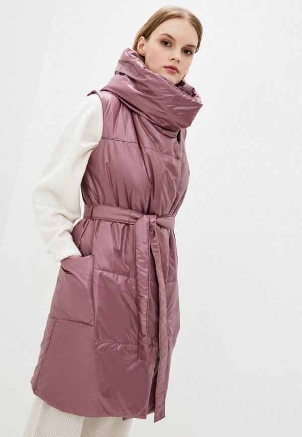 женский жилет modniy oazis, розовый