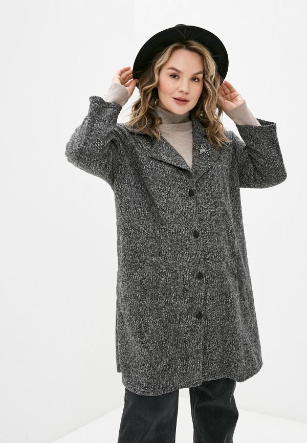 женское пальто артесса, черное