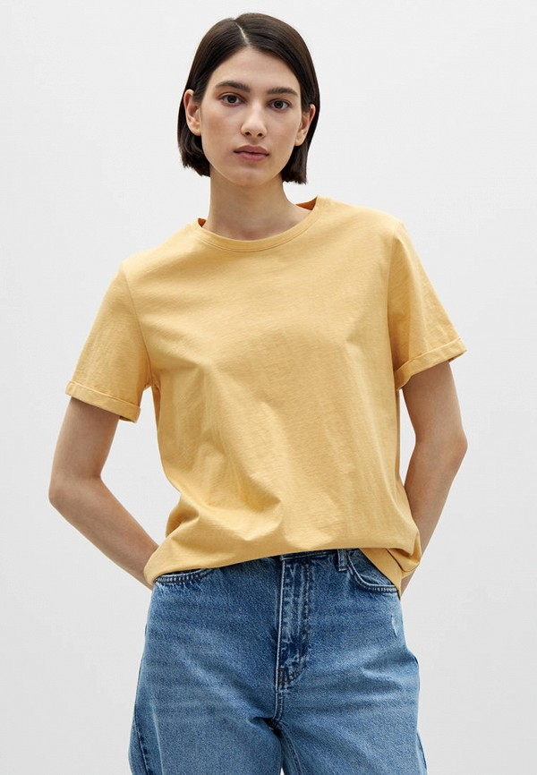 женская футболка lime, желтая