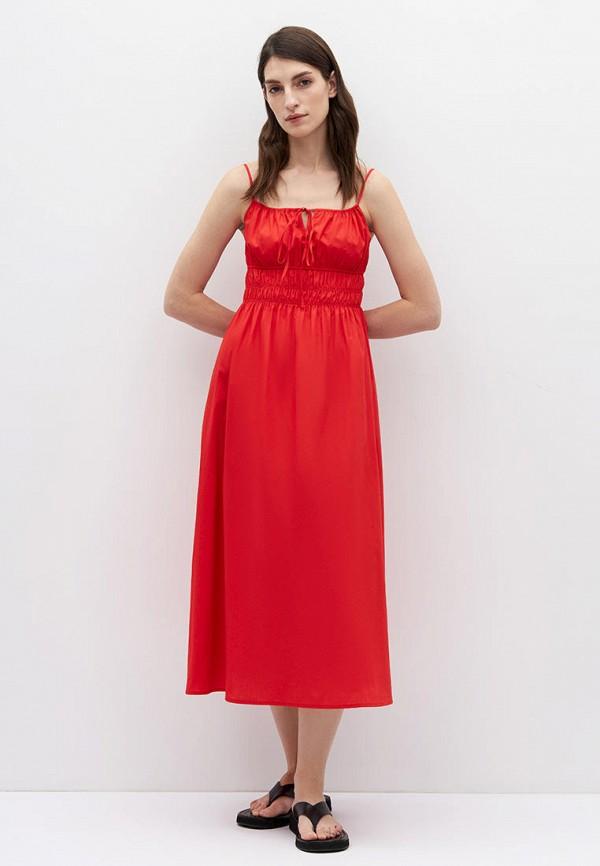 женский сарафан lime, красный