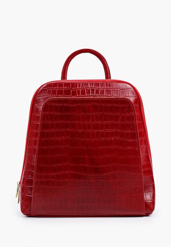 женский рюкзак alexander tsiselsky, красный