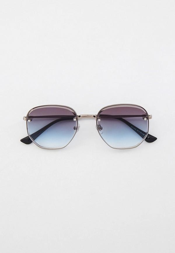 женские круглые солнцезащитные очки ruxara, серые