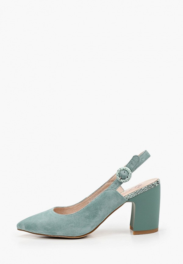 женские туфли valley, бирюзовые