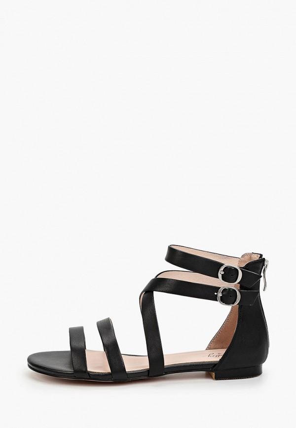 женские сандалии valley, черные