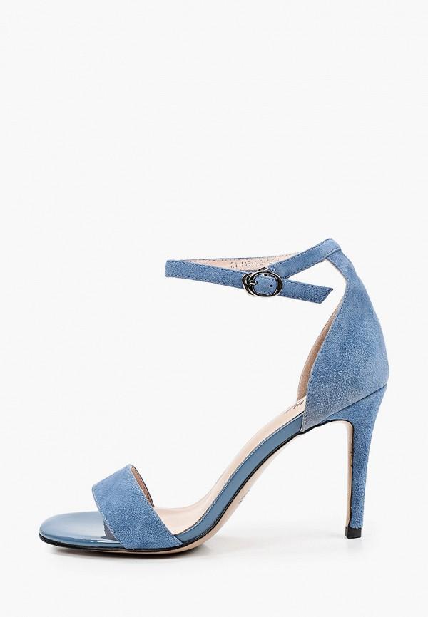 женские босоножки valley, голубые