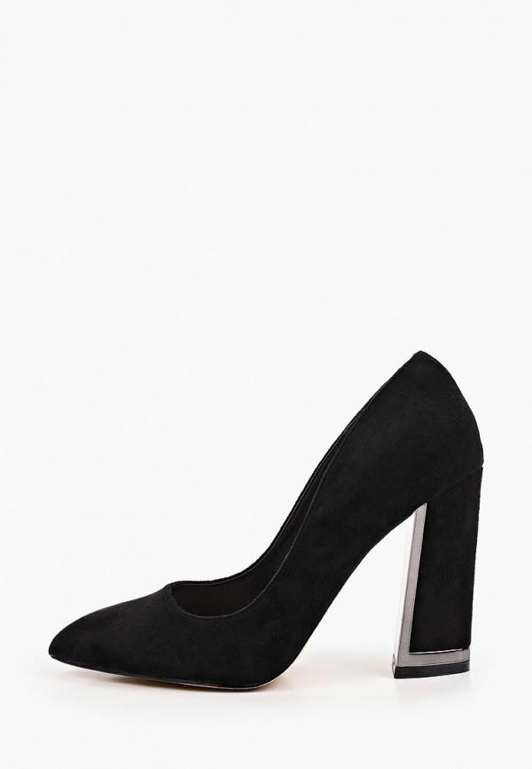 женские туфли с закрытым носом may vian, черные