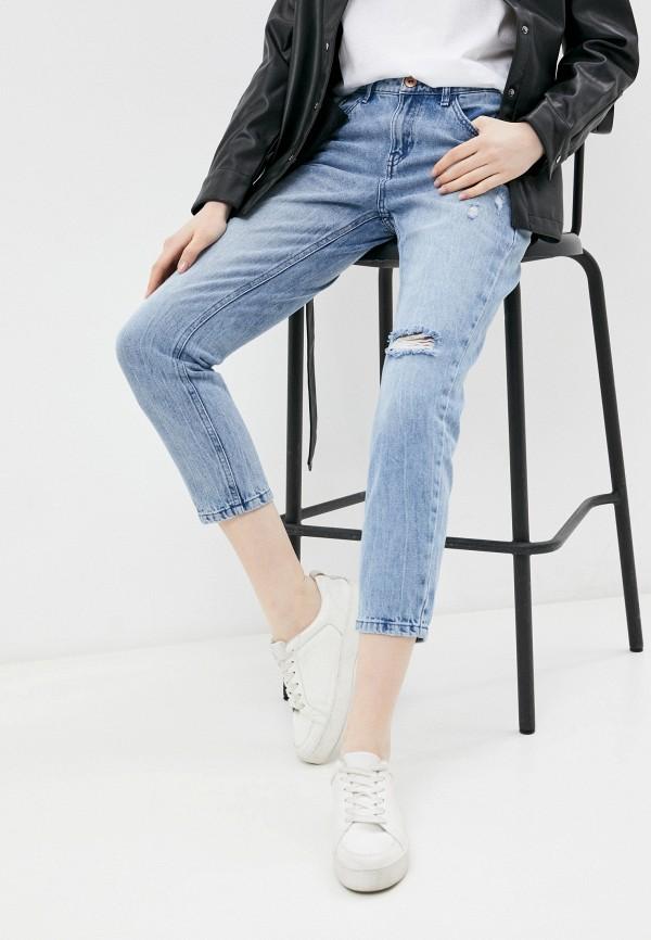 женские джинсы бойфренд o'stin, голубые
