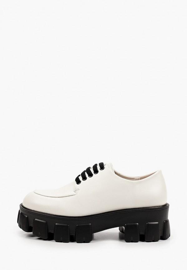 женские низкие ботинки may vian, белые