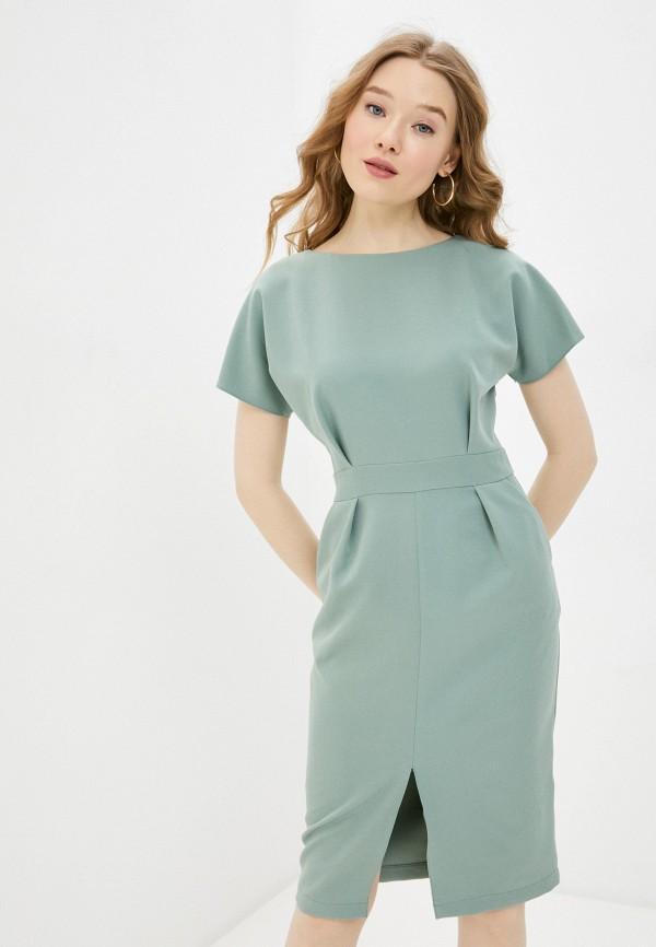 женское платье-футляр a-a awesome apparel by ksenia avakyan, зеленое