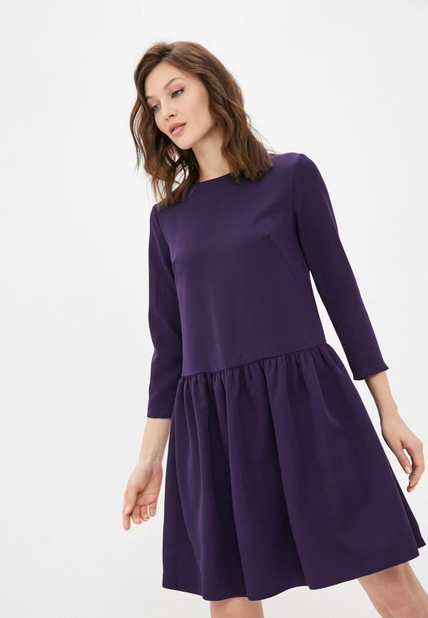 женское повседневные платье a-a awesome apparel by ksenia avakyan, фиолетовое