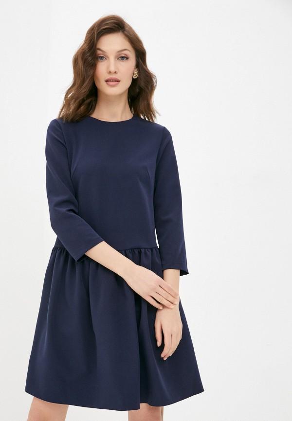 женское повседневные платье a-a awesome apparel by ksenia avakyan, синее