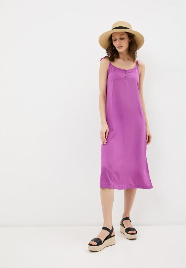 женское платье mia cara, фиолетовое
