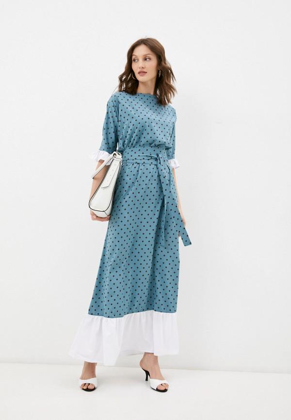 женское повседневные платье emansipe, бирюзовое