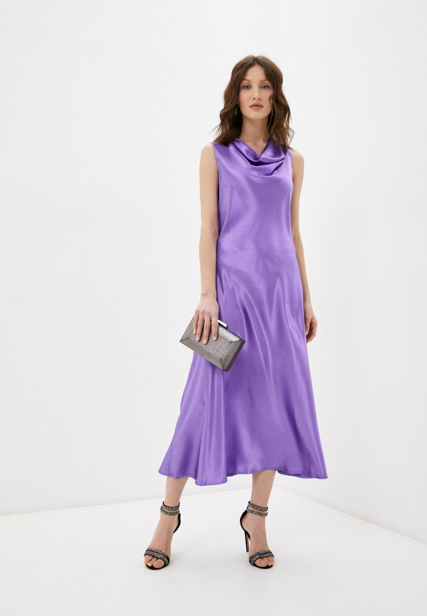 женское вечерние платье emansipe, фиолетовое