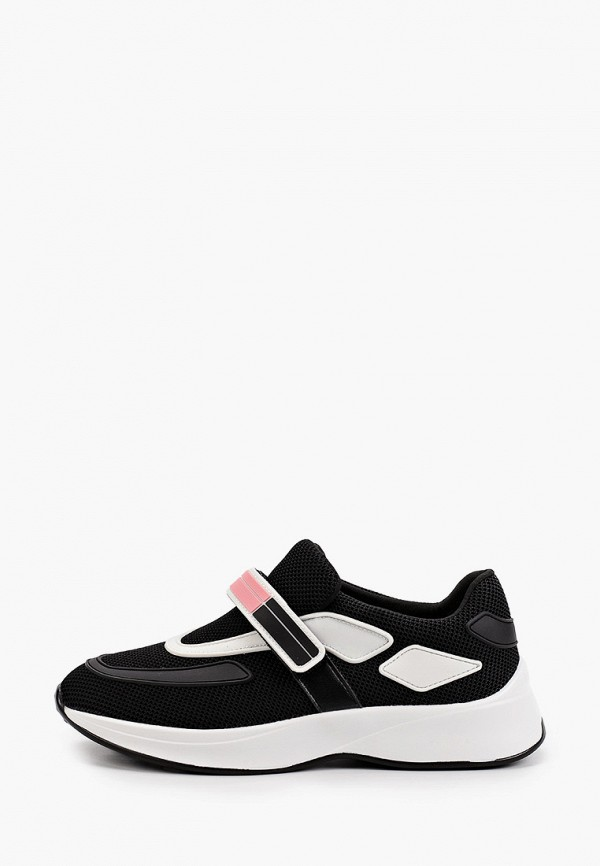 женские низкие кроссовки v.i.konty, черные
