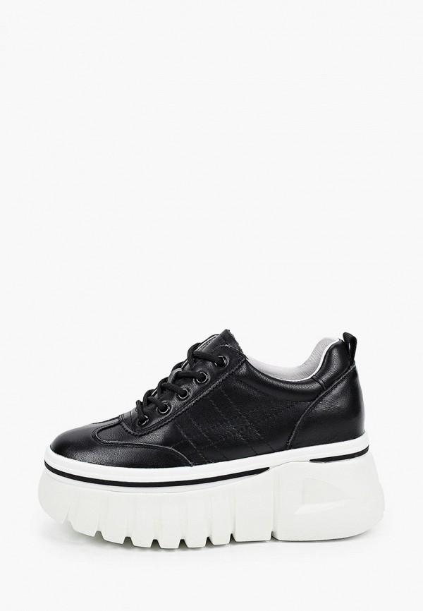 женские низкие кроссовки berkonty, черные