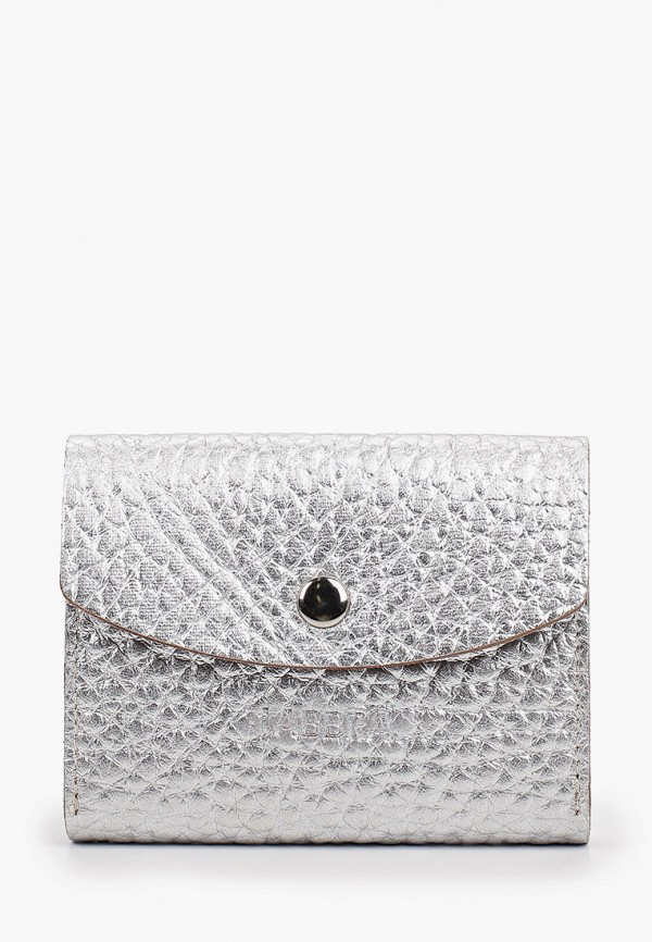 женский кошелёк labbra, серебряный
