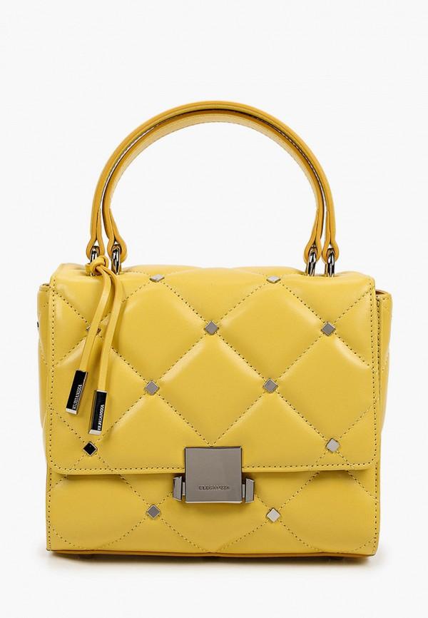 женская сумка с ручками eleganzza, желтая