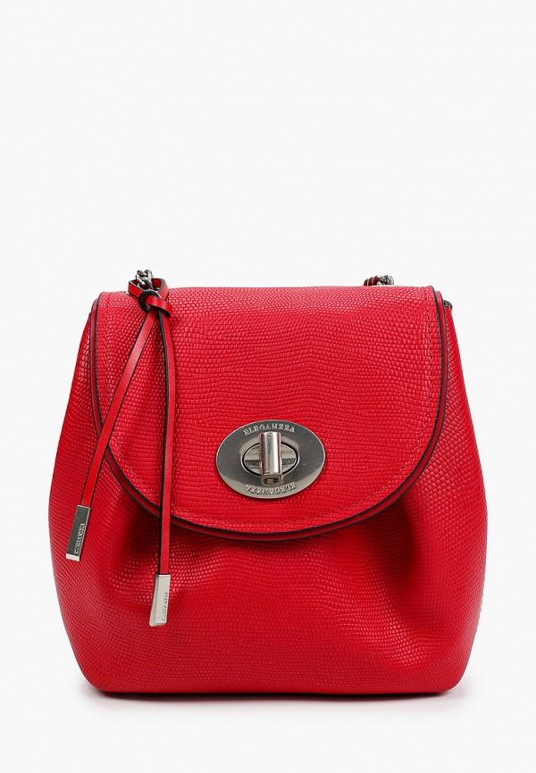 женская сумка через плечо eleganzza, красная