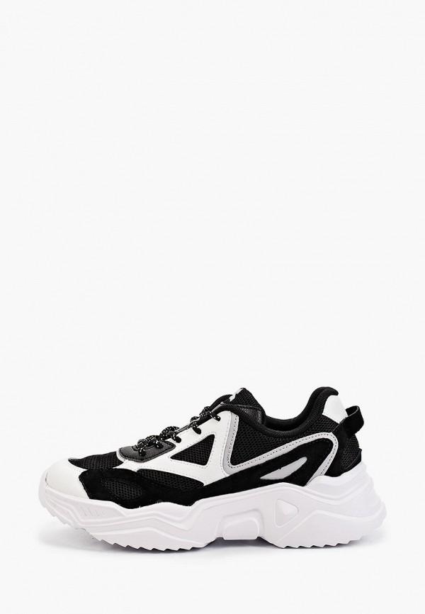 женские низкие кроссовки sigma, черные