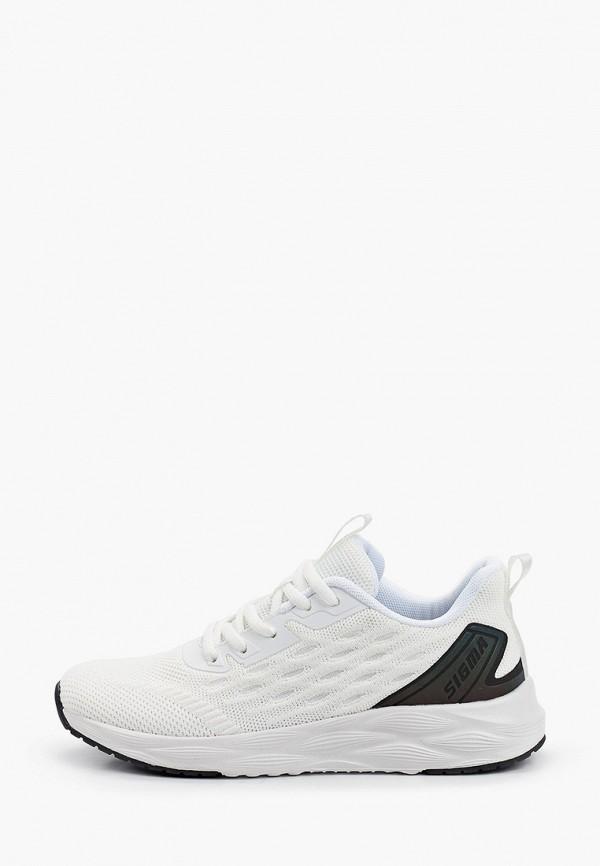 женские низкие кроссовки sigma, белые