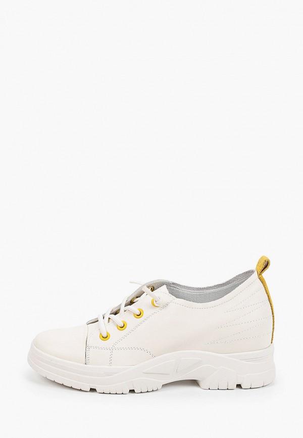 женские низкие ботинки berkonty, бежевые