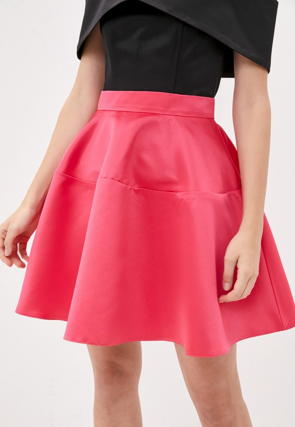 женская юбка-трапеции fashion.love.story, розовая
