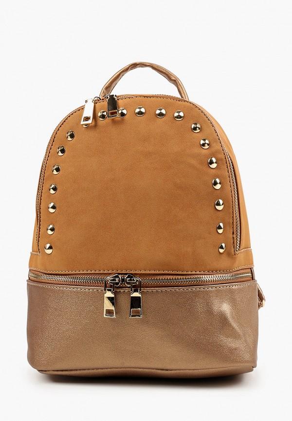 женский рюкзак dda, коричневый