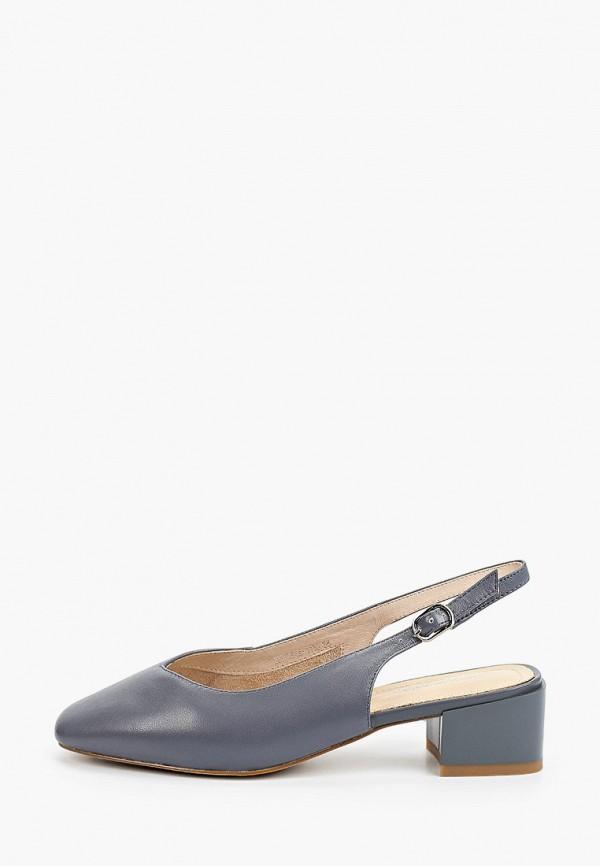 Туфли Thomas Munz серого цвета