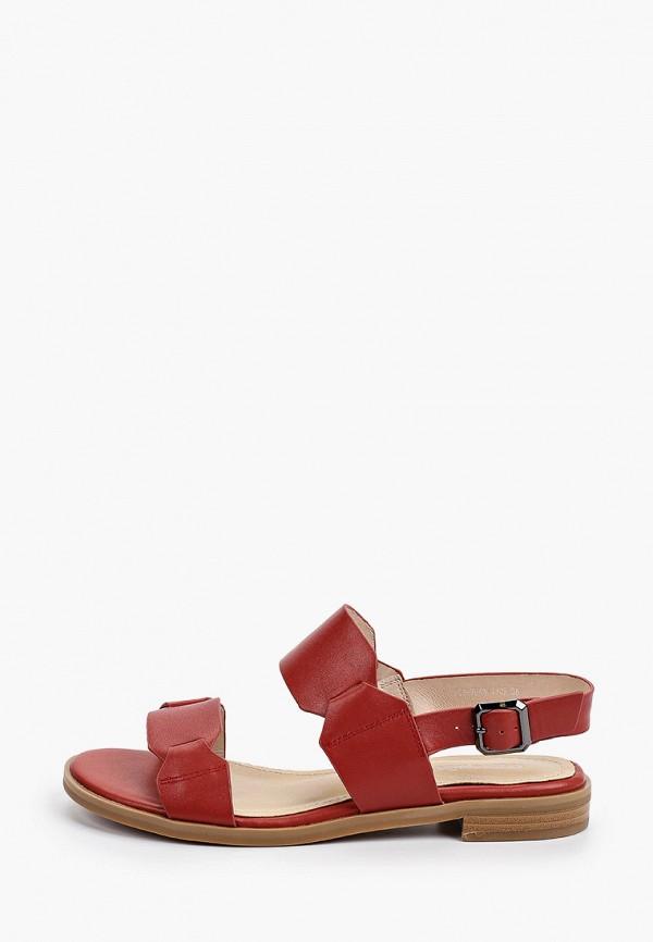 женские сандалии thomas munz, красные