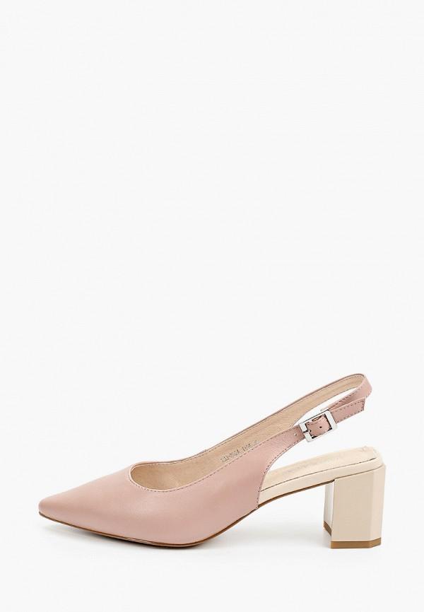 женские туфли thomas munz, розовые