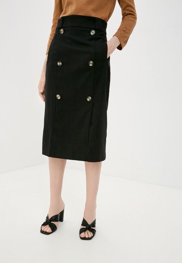 женская прямые юбка top top, черная