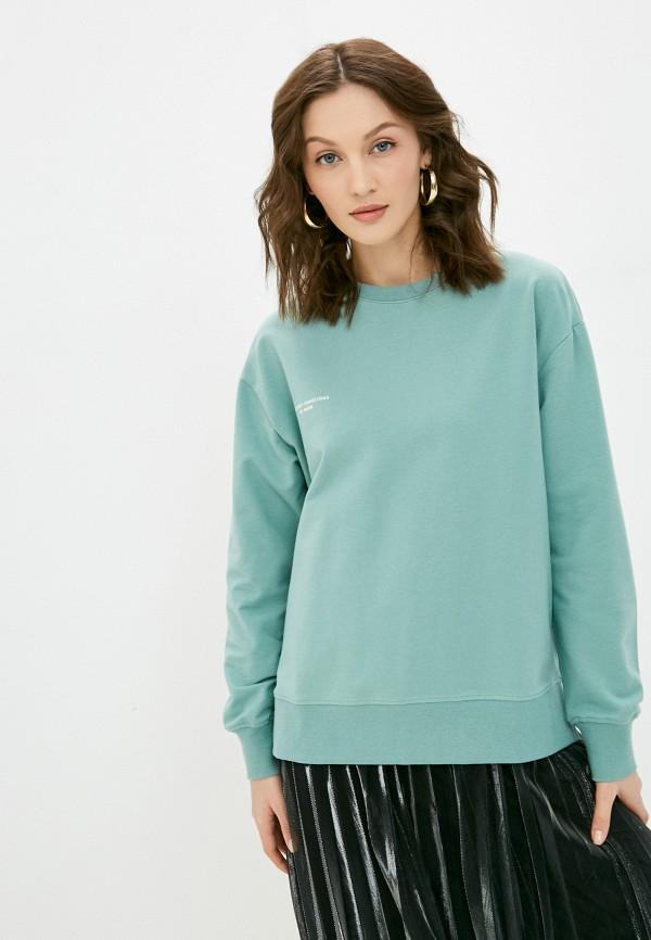 женский свитшот baon, зеленый