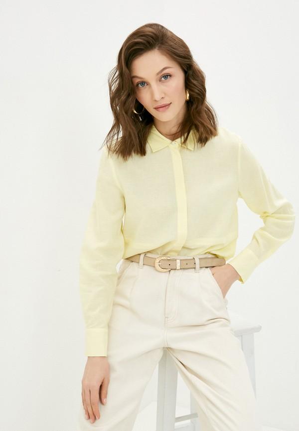 женская блузка с длинным рукавом baon, желтая