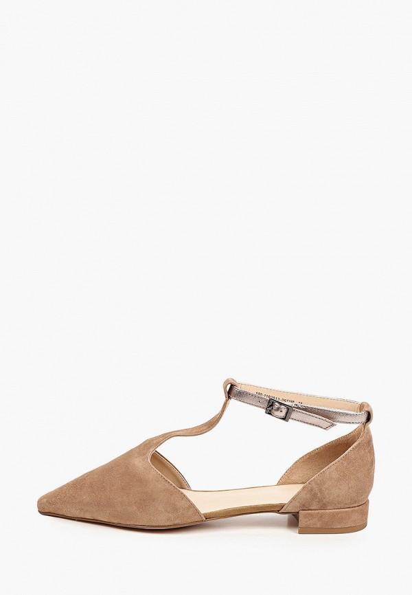 женские туфли mascotte, коричневые