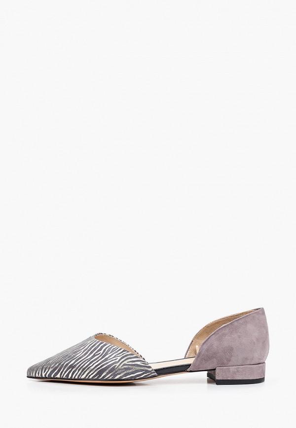 женские туфли mascotte, серые