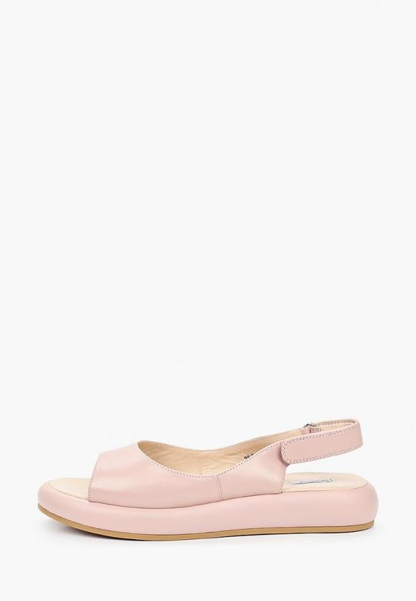 женские сандалии mascotte, розовые