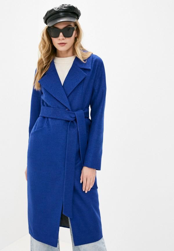 женское пальто d.jagazi, синее