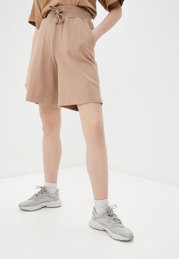 женские спортивные шорты baon, коричневые