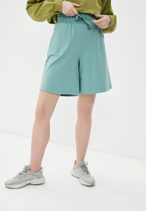 женские спортивные шорты baon, зеленые