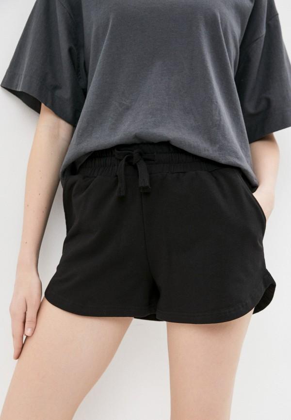 женские спортивные шорты baon, черные