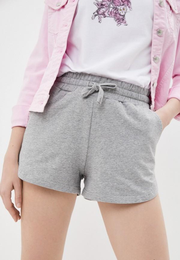 женские спортивные шорты baon, серые