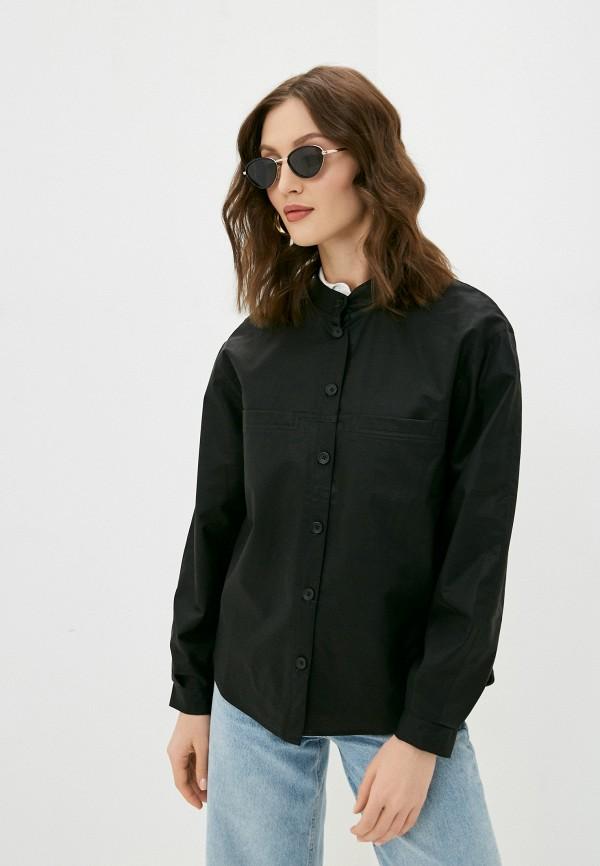 женская кожаные куртка baon, черная