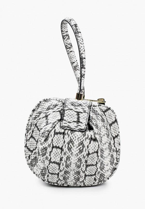 женская сумка с ручками mascotte, серая