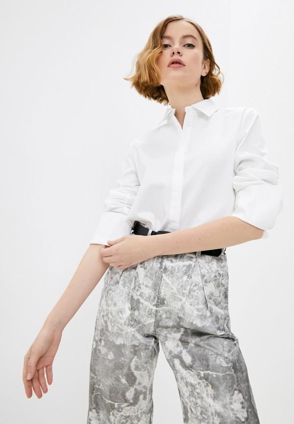 женская рубашка с длинным рукавом raimaxx, белая